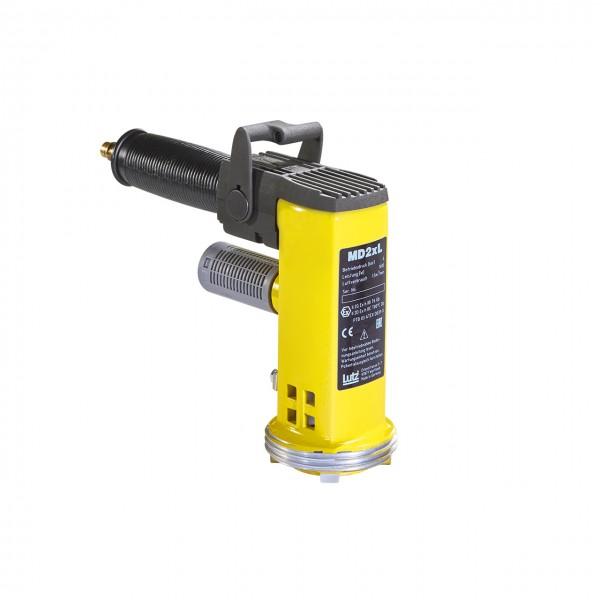 IBC-Pumpe Alu mit Motor MD2xL, 1200 mm Tauchtiefe, für Mineralöle