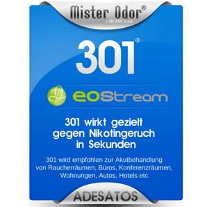BDLC-301 gegen Nikotingeruch, Flüssigkeit, EOStream, Geruchsneutralisator