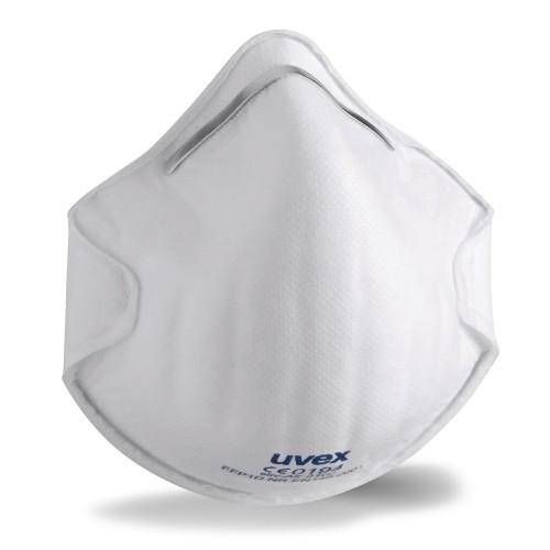 uvex Atemschutzmaske silv-Air c 2100 FFP1 NR D, Formmaske ohne Ventil