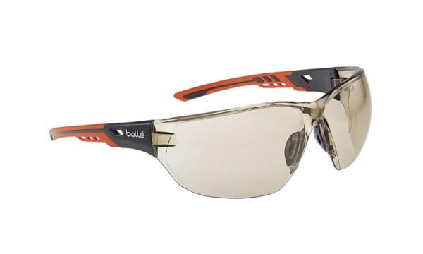 bolle Schutzbrille NESS+ - NESSPCSP mit Bi-Material Rahmen, CSP PC, Panoramablickfeld