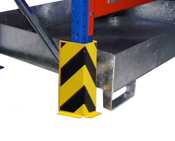 Bauer Anfahrschutz Typ S 3016 aus Stahl, lackiert, für Regale