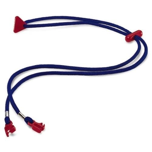 uvex Brillenkordel 9959003 blau für alle Brillen mit Flex- und Softbügel