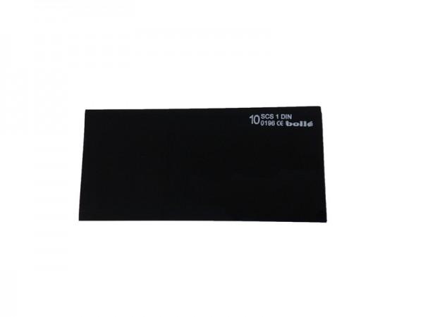bolle Schweißfilter MP1010550 - Mineral - Schweißtönung 10, 105 x 50 mm, 10 Stück